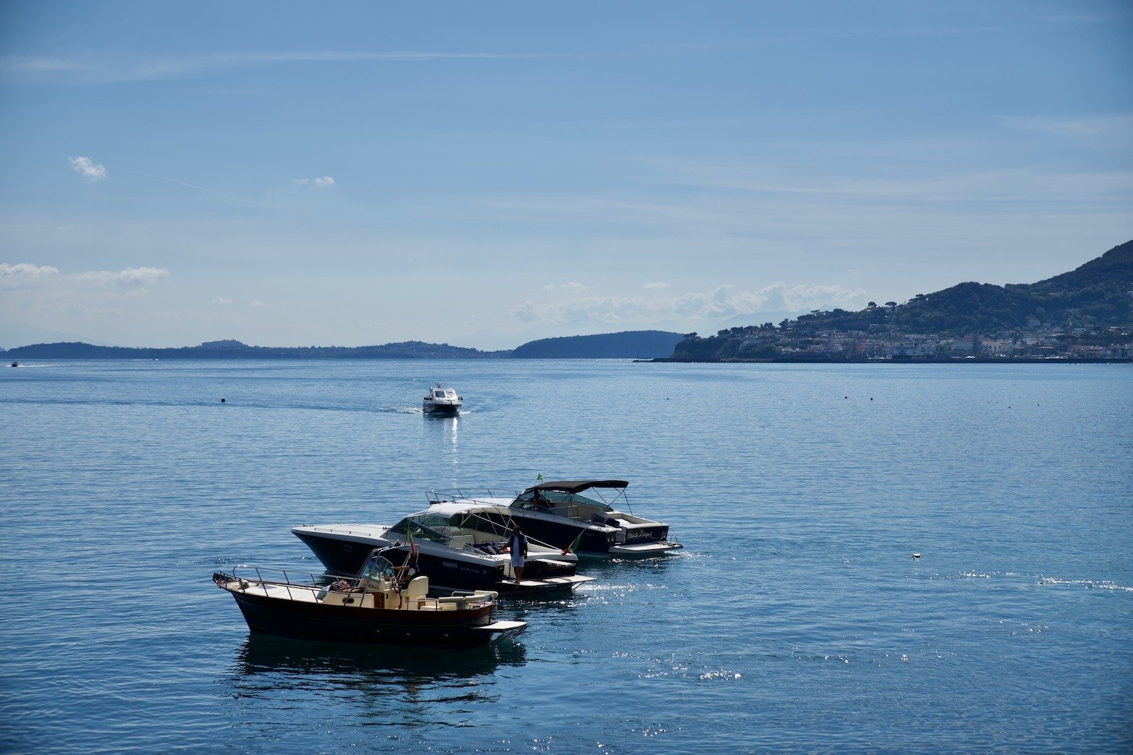 Flotta Giosymar Ischia Charter